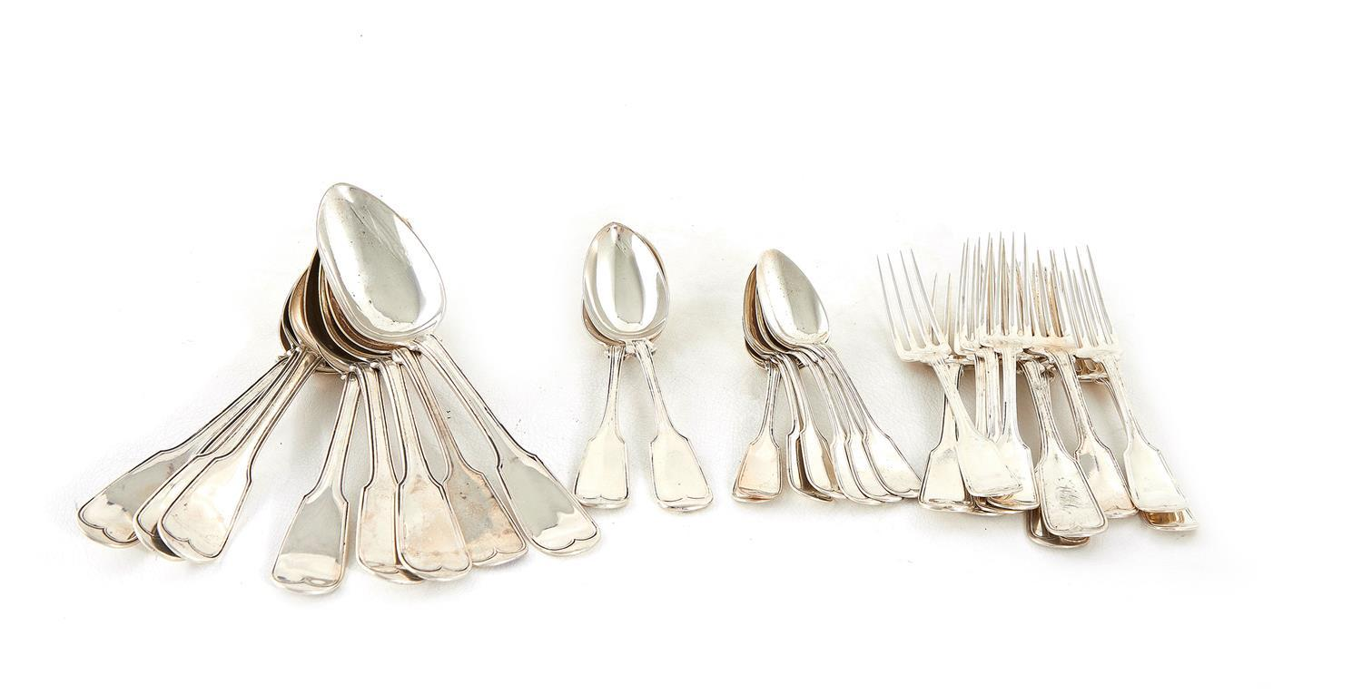 American coin silver and sterling flatware (27pcs)