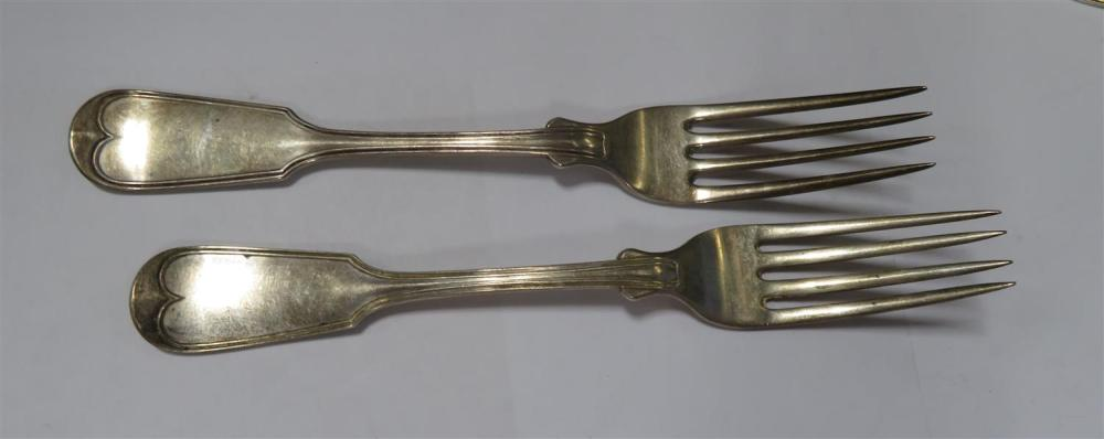South Carolina silver flatware and serving pieces (6pcs)