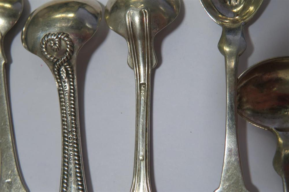 American coin silver salt spoons (26pcs)