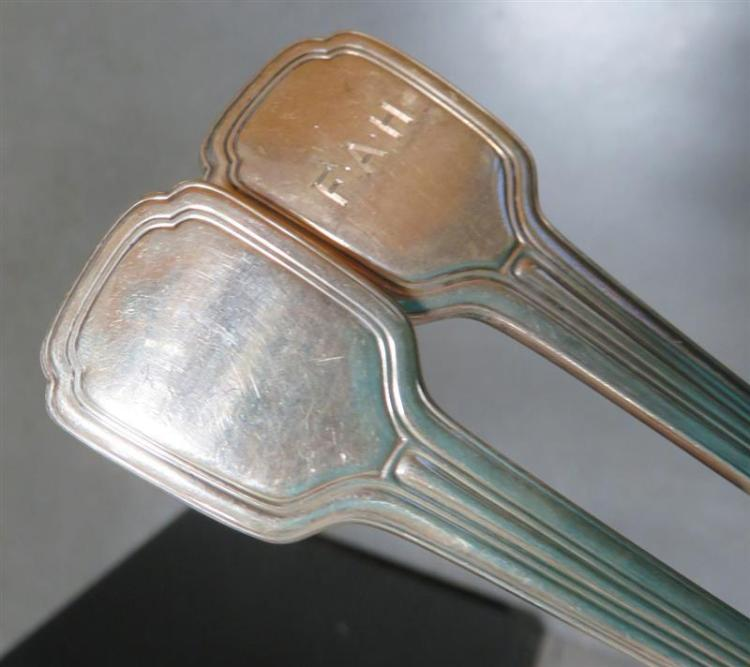 Tiffany & Co Strawberry pattern silver berry spoons (2pcs)