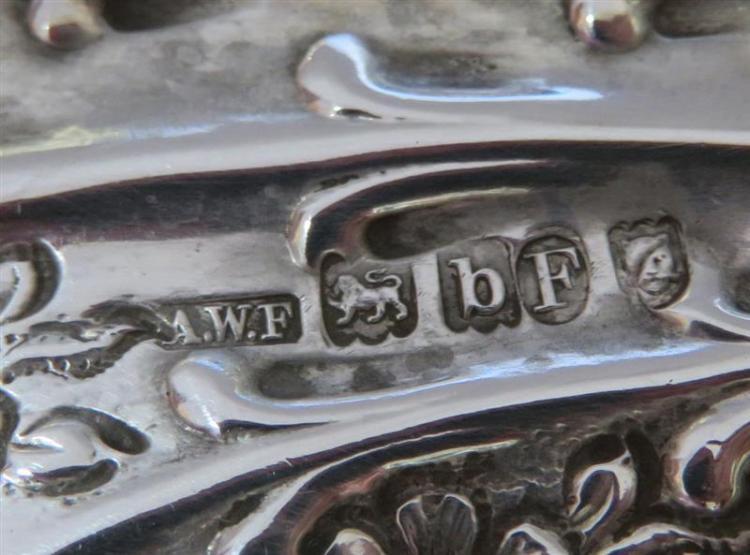 Tiffany & Co silver Peacock tray