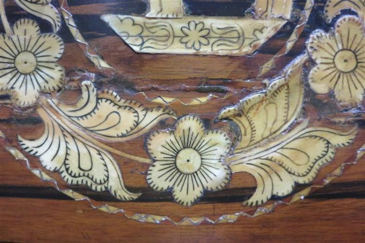 English rosewood work/sewing box