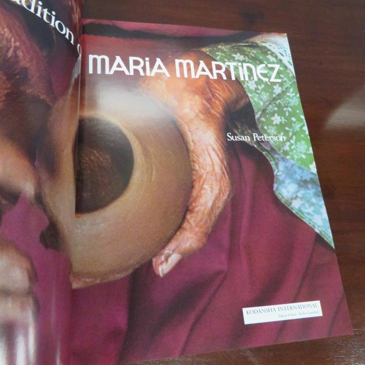 Native American blackware olla, Maria and Santana Martinez (3pcs)