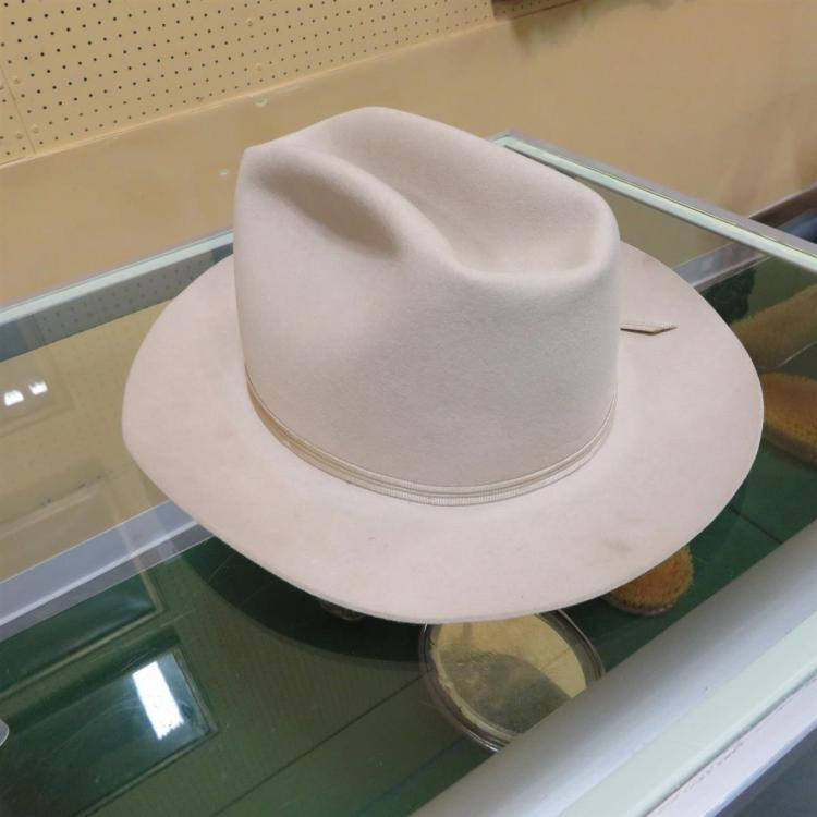 Lyndon B. Johnson: Shady Oak felt hat