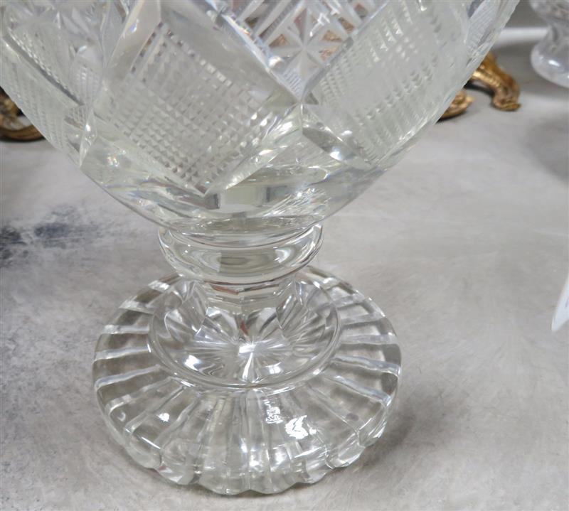 Georgian Anglo Irish cut-crystal ewer