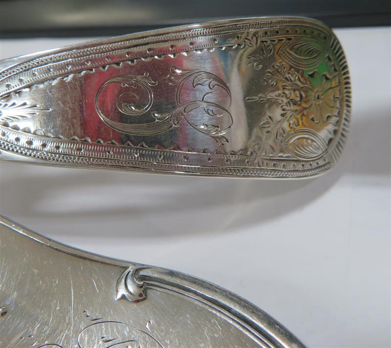 American silver ladles (3pcs)