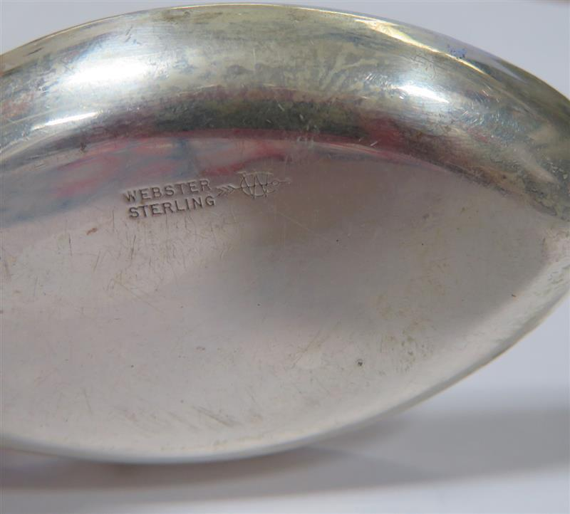 Wallace silver iced tea spoon rest set (12pcs)
