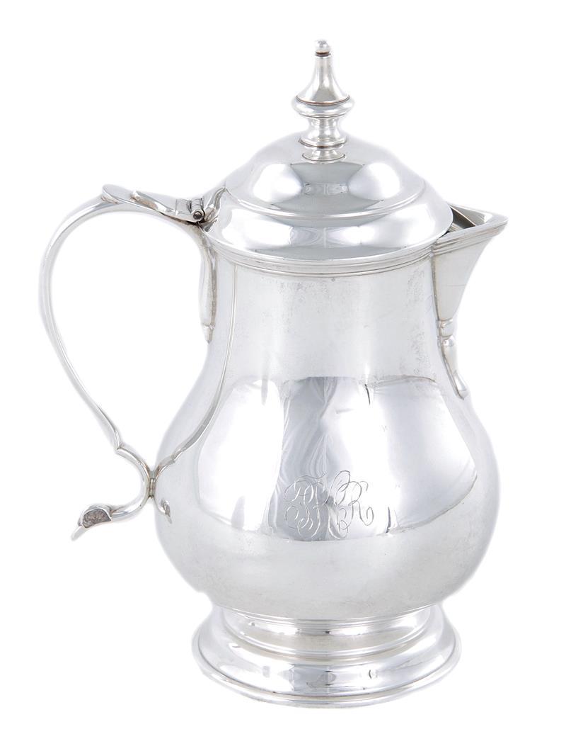 Stieff silver cream pitcher