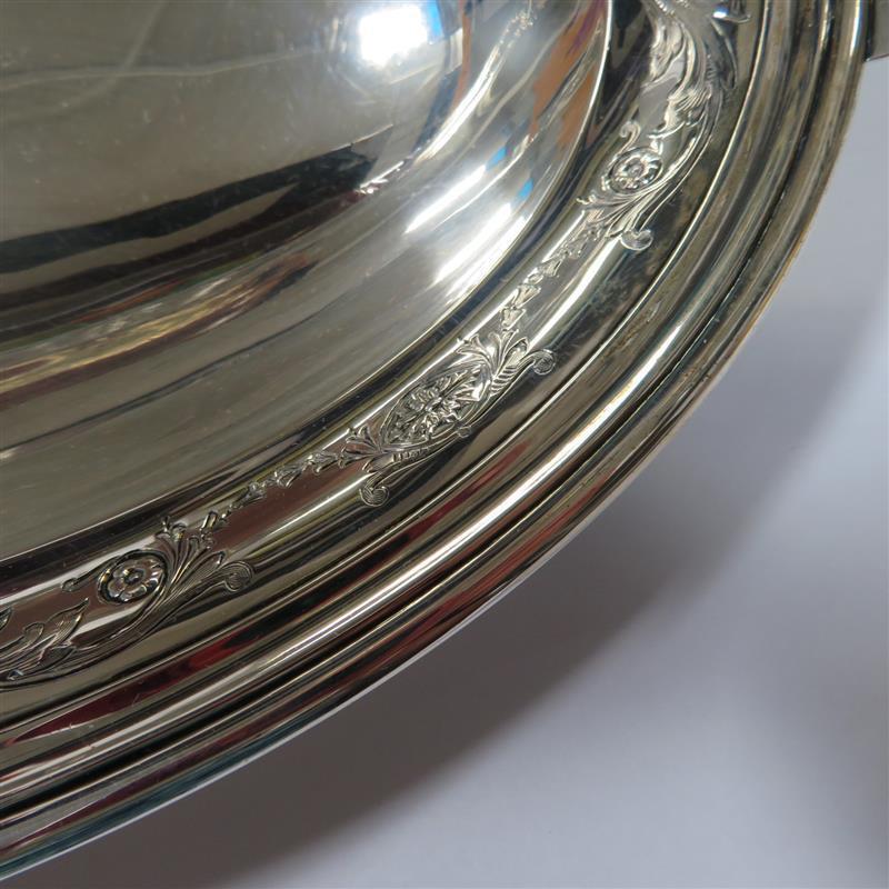 Whiting MFG silver basket