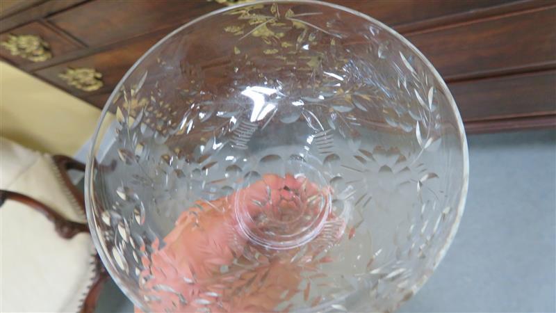 Vintage cut-crystal champagne coupes (24pcs)
