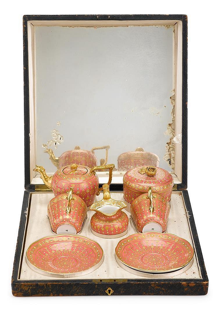 Copeland presentation tea service, of Royal interest
