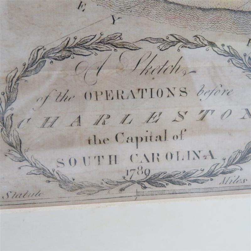 Important Charleston Battle Plan, by Thomas Abernethie