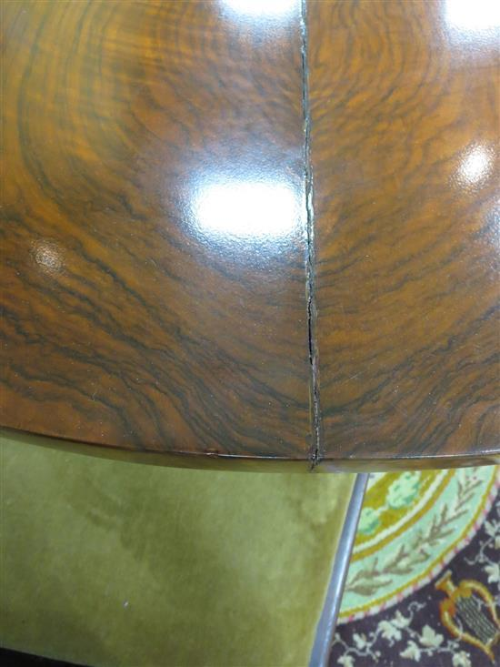 Biedermeier cherry center table