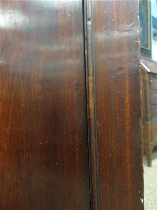 Rare William IV mahogany linen cabinet