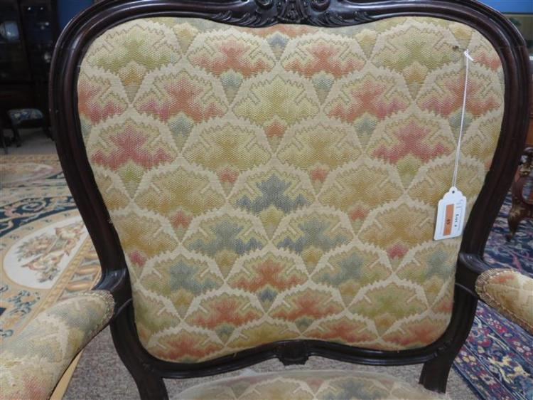 Rare George II mahogany armchair, John Gordon