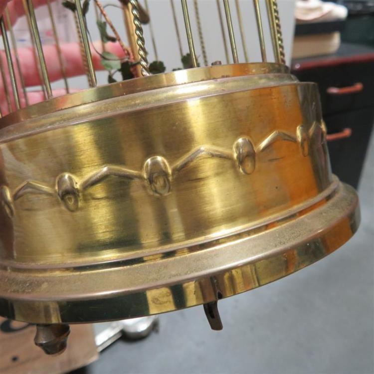 Karl Griesbaum singing bird cage automaton