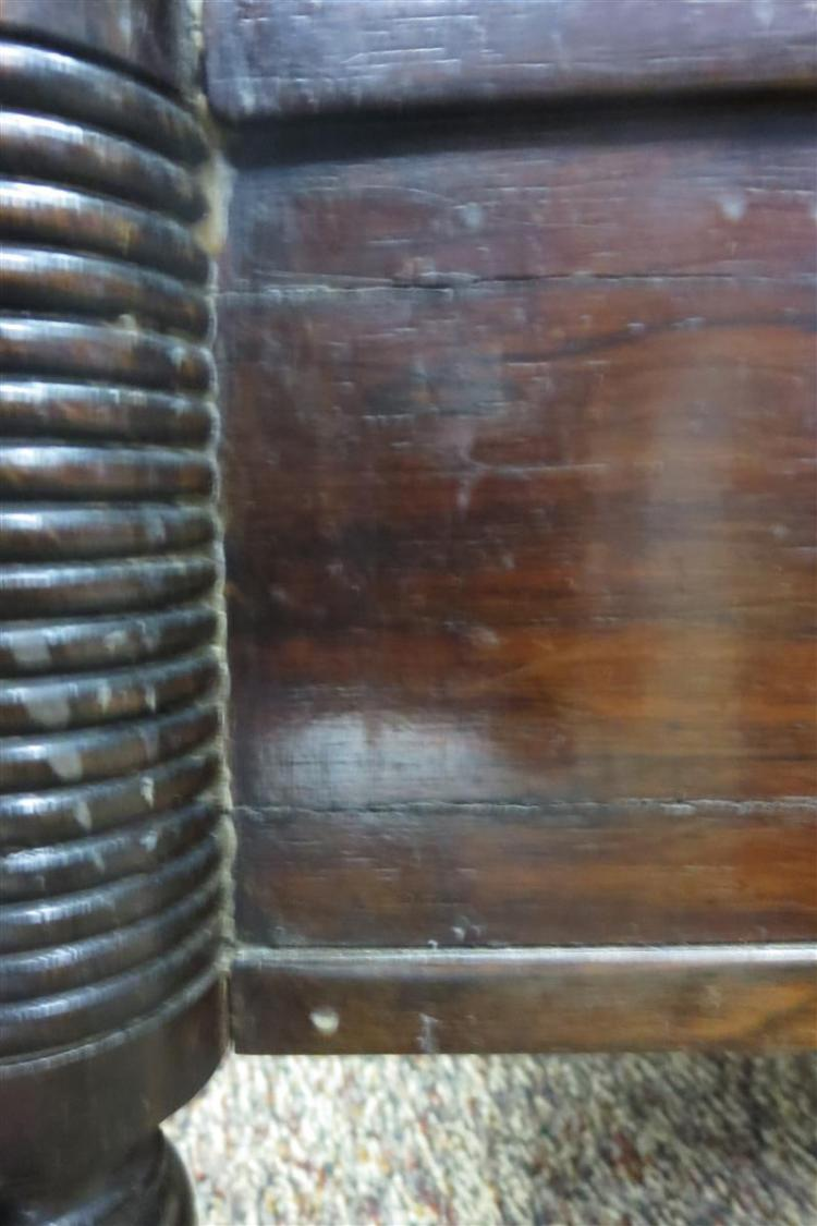 Late Regency rosewood canterbury