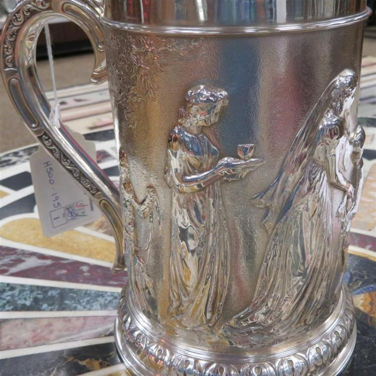 Early Victorian silver tankard, James Franklin