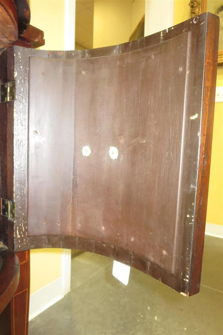 Georgian style inlaid mahogany sideboard