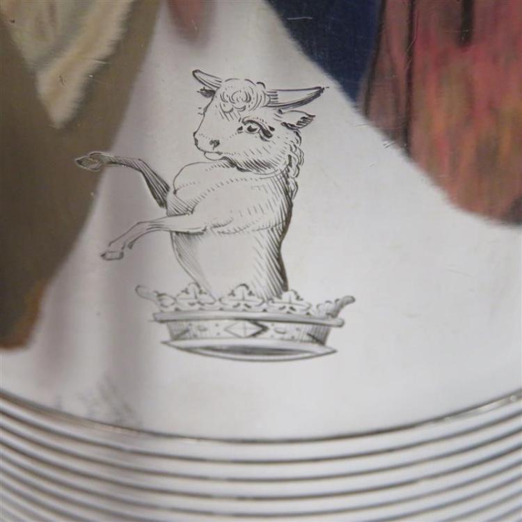 George III silver tankard, William Bennett