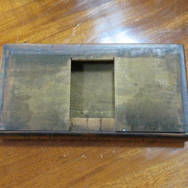 Italian inlaid collector's box