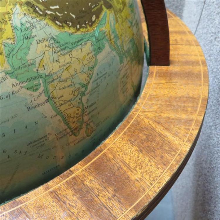 Philips Terrestrial floor globe on stand