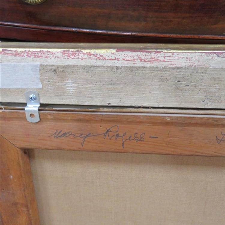 Mary Benjamin Rogers, in Ben Budura signed frame