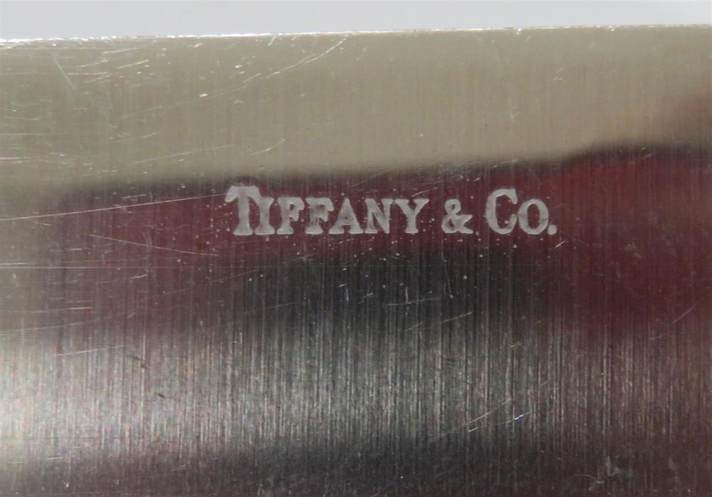 American silver roast carving set, Tiffany & Co (4pcs)