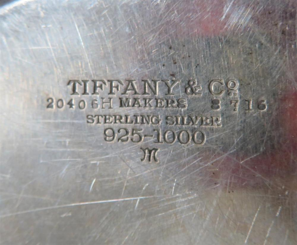 American silver centerbowl, Tiffany & Co
