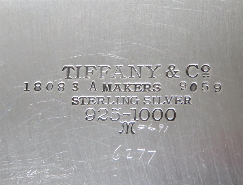 American silver individual coffee service, Tiffany & Co (4pcs)