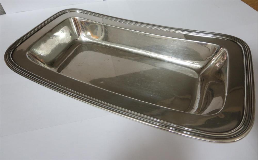 American silver open serving dish, Tiffany & Co