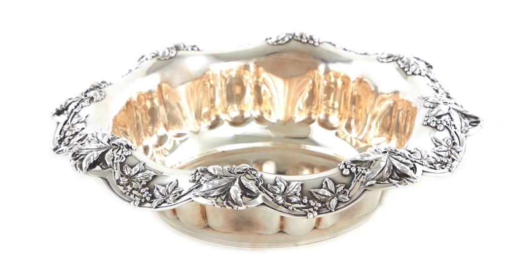American silver center bowl, Tiffany & Co