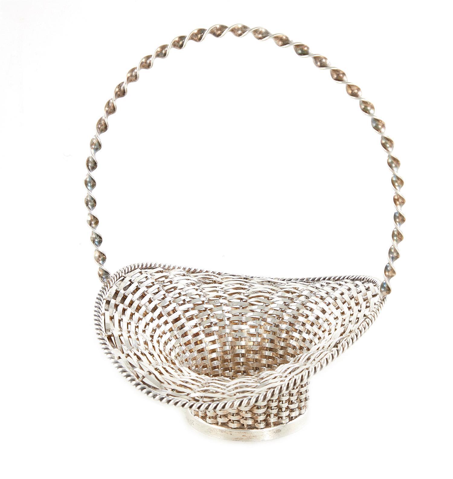 Cartier silver basket