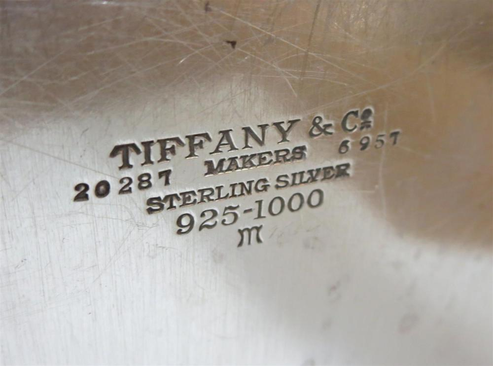 American silver trophy salver, Tiffany & Co