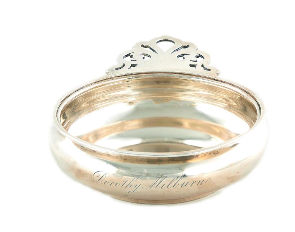 American silver porringer, Tiffany & Co