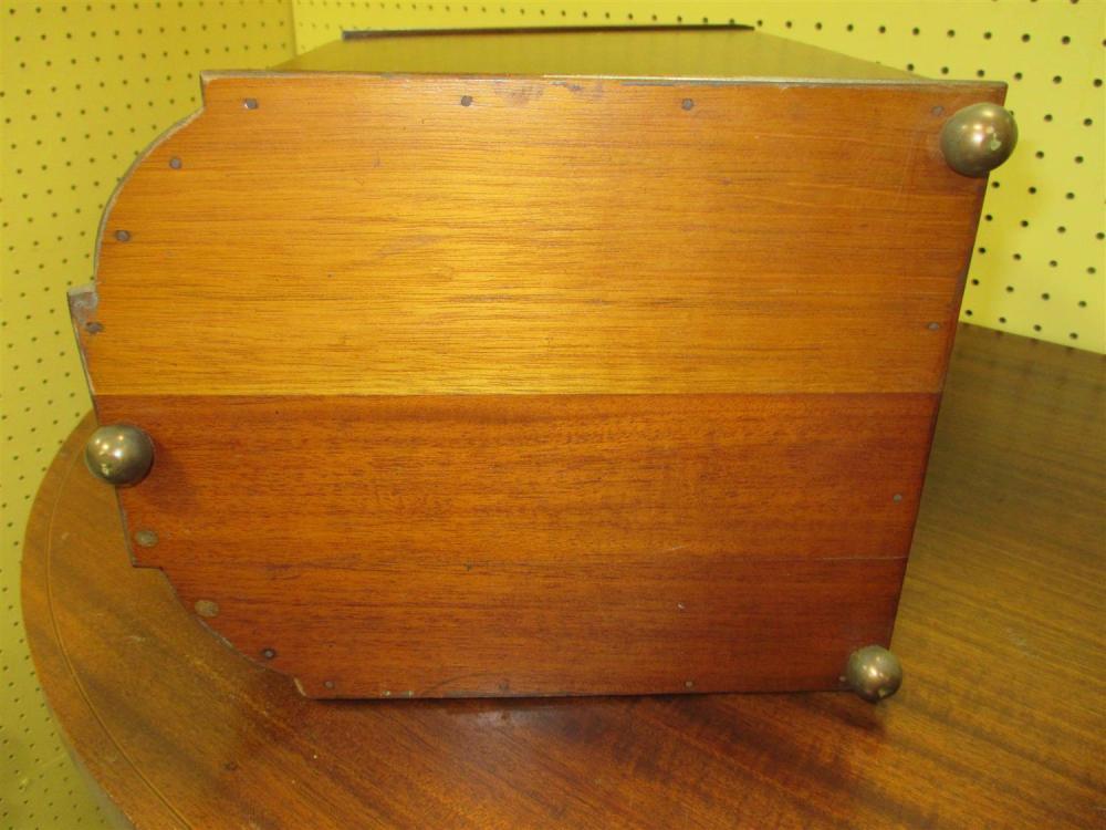 Pair mahogany knife boxes (2pcs)