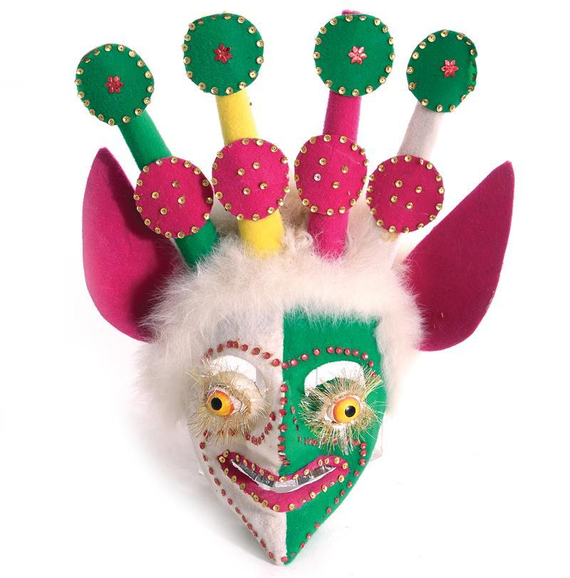 Bolivian Carnaval de Oruro mask