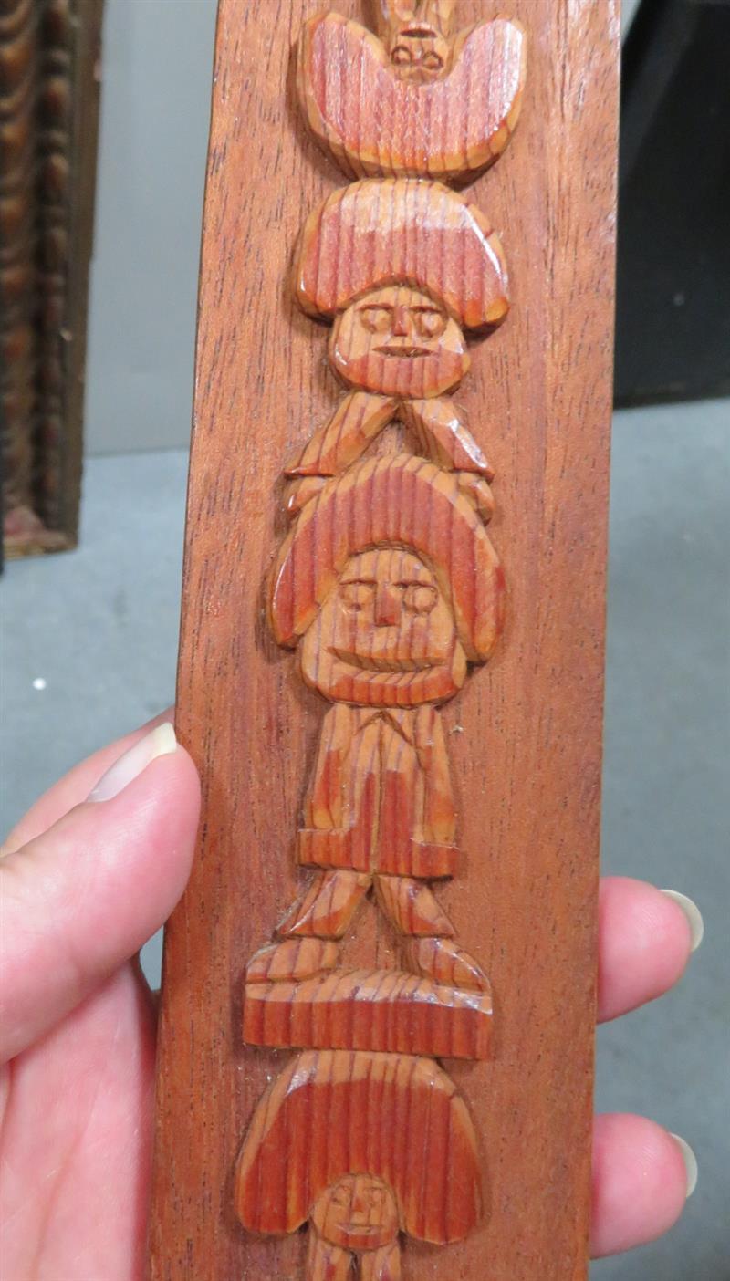 Rev. Herman Lee Hayes folk art sculpture