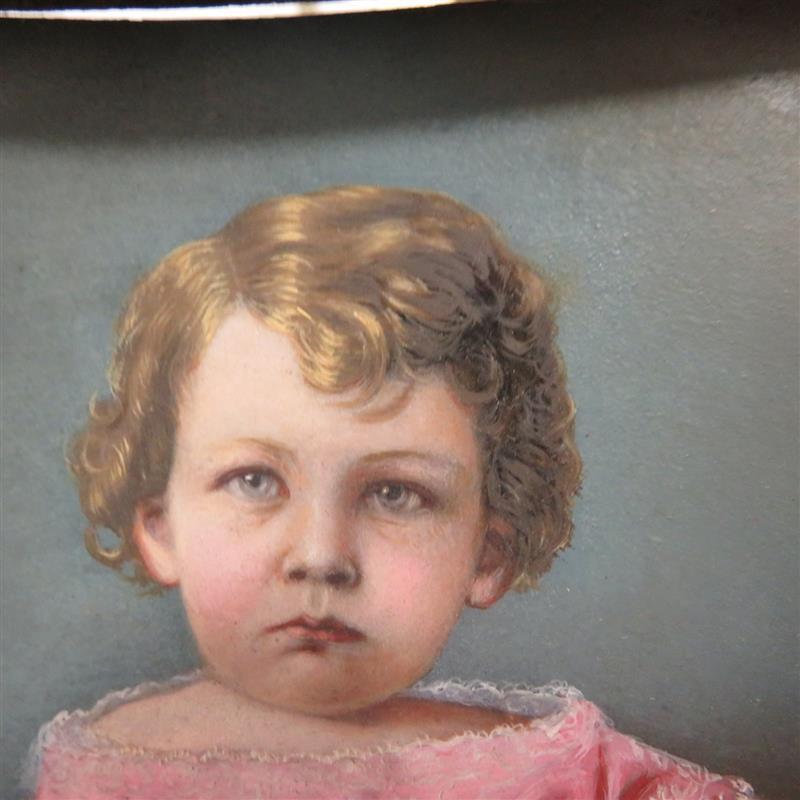 American primitive portrait
