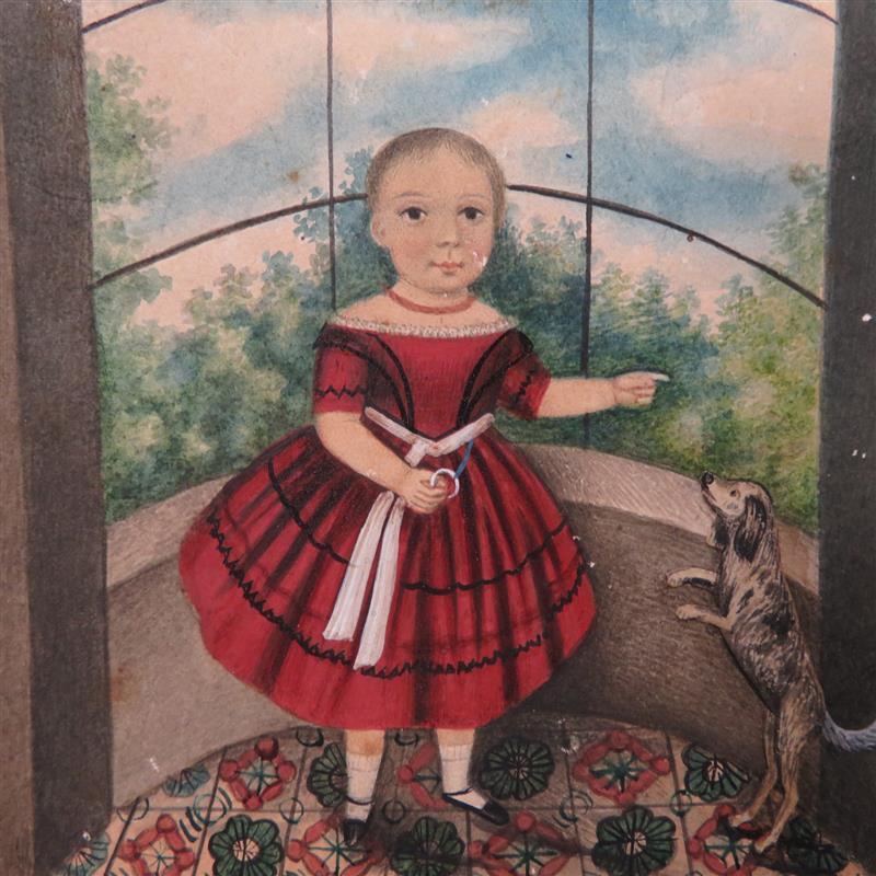 American folk portrait, New England