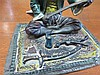 Image 3 for Austrian cold-painted bronze Orientalist sculpture by Franz Bergman