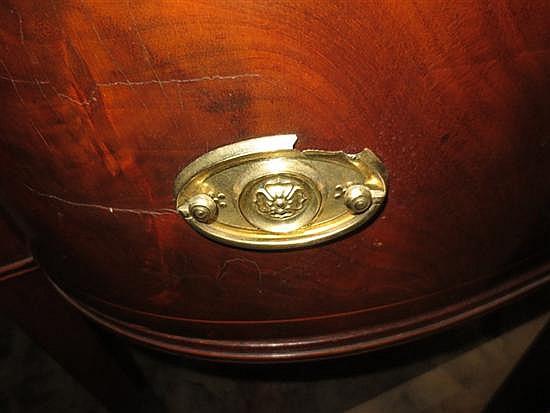 Georgian inlaid mahogany sideboard