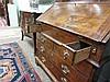 Image 11 for George II style double-bonnet walnut and burl bureau bookcase