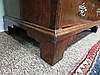 Image 14 for George II style double-bonnet walnut and burl bureau bookcase