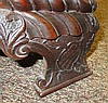 Image 16 for Chinese Chippendale style carved mahogany chest-on-chest