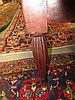 Image 10 for Sheraton carved mahogany and upholstered sofa