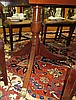 Image 7 for Sheraton style inlaid mahogany pedestal dining table
