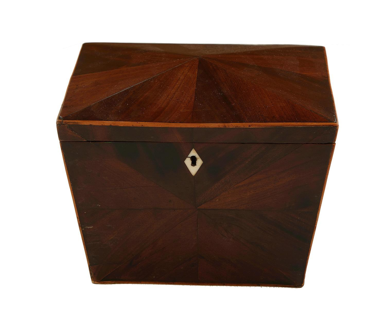 English inlaid mahogany box
