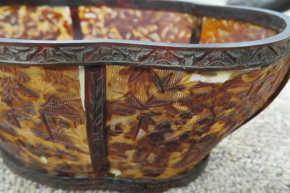 *Fine Chinese reticulated tortoiseshell cricket box