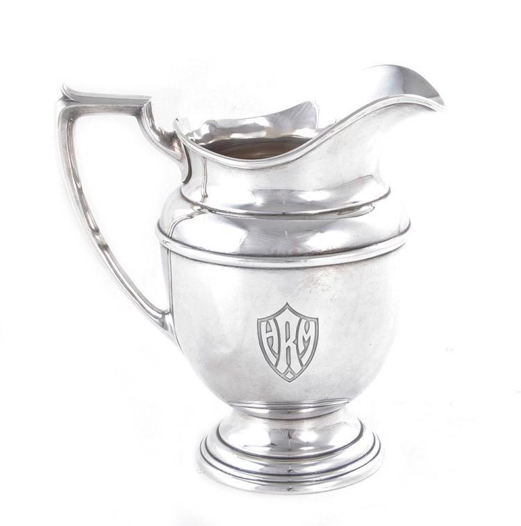 Gorham sterling beverage pitcher